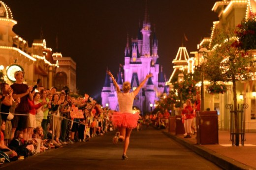 I'm going to Disney World!  Oh, wait a minute....