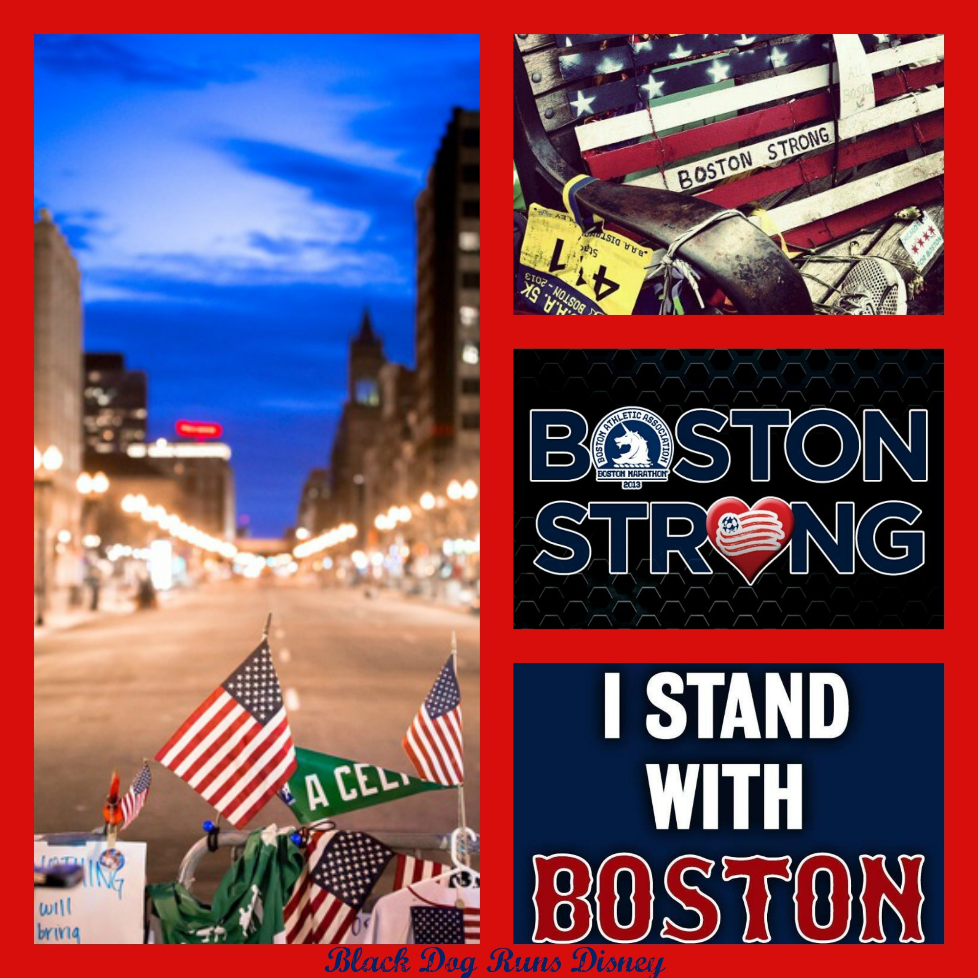 BostonStrong Collage