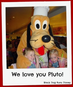 Pluto and Girls