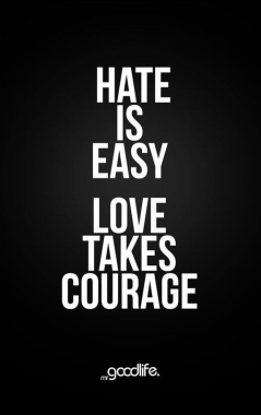 hate is easy