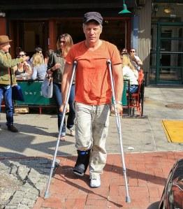 bon jovi crutches