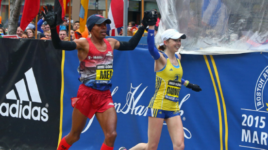 Meb and Hillary