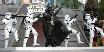 That's right.  Even Darth Vader is groovin' to the news!