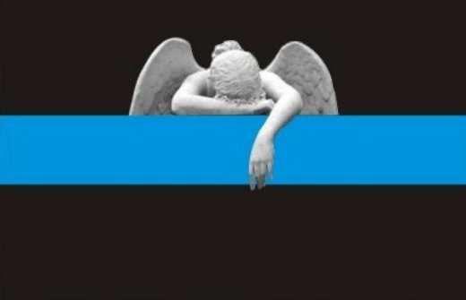 Thin Blue Line Angel