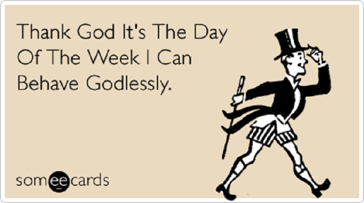 FF godless weekend